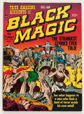 Golden Age (1938-1955):Horror, Black Magic #2 (Prize, 1950) Condition: FN-....