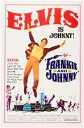 "Music Memorabilia:Documents, Elvis Presley - A One-Sheet Movie Poster from ""Frankie andJohnny.""..."