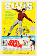 "Music Memorabilia:Documents, Elvis Presley - A One-Sheet Movie Poster from ""Girl Happy.""..."