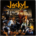 Music Memorabilia:Autographs and Signed Items, Jackyl Signed Promo Slick....