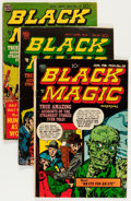 Golden Age (1938-1955):Horror, Black Magic Group (Prize, 1951-54) Condition: Average VG....(Total: 5 Comic Books)