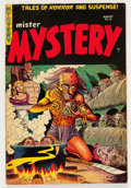 Golden Age (1938-1955):Horror, Mister Mystery #18 (Aragon, 1954) Condition: VG+....