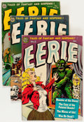 Golden Age (1938-1955):Horror, Eerie #3 and 13-15 Group (Avon, 1951-54) Condition: AverageGD/VG.... (Total: 4 Comic Books)