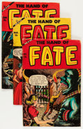 Golden Age (1938-1955):Horror, The Hand of Fate #21-25 Group (Ace, 1953-54) Condition: AverageGD/VG.... (Total: 5 Comic Books)
