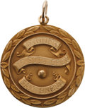 Golf Collectibles:Autographs, 1960 De Soto Open Invitational Championship Gold Medal Won by SamSnead....