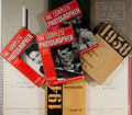 Books:Photography, [Photography]. Group of Ten Magazines and Annuals on Early Twentieth Century Photography. Various publishers, 1916-1956. Goo... (Total: 10 Items)