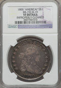 Early Dollars, 1800 $1 AMERICAI -- Improperly Cleaned -- NGC Details. VF. B-19,BB-192, R.2....