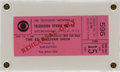 "Music Memorabilia:Documents, The Rolling Stones - Rehearsal Ticket for ""The Ed Sullivan Show""(1967)...."