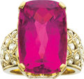Estate Jewelry:Rings, Tourmaline, Diamond, Gold Ring, Fairchild. ...