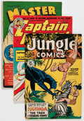 Golden Age (1938-1955):Miscellaneous, Comic Books - Assorted Golden Age Comics Group (Various Publishers, 1948-52).... (Total: 4 Comic Books)