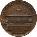 Golf Collectibles:Miscellaneous, 1950 Masters Tournament Third Place Bronze Medal Won by SamSnead....