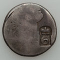 Dominica, Dominica: British Colony Six Bits (valued at Four Shillings andSixpence) Authority of August 1813,...