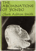 Books:Horror & Supernatural, Clark Ashton Smith. The Abominations of Yondo. Arkham House,1960. First edition. Dust jacket design by Ronald C...