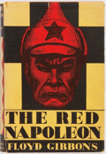 Books:Fiction, Floyd Gibbons. The Red Napoleon. Jonathan Cape &Harrison Smith, 1929. First edition. Publisher's original cloth...
