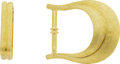 Estate Jewelry:Other , Gold Belt Buckle, Henry Dunay. ...