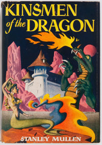 Stanley Mullen. SIGNED. Kinsman of the Dragon. Shasta Publishers, 1951. First editio
