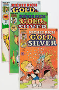 Bronze Age (1970-1979):Cartoon Character, Richie Rich Gold and Silver #2-42 File Copies Box Lot (Harvey,1975-82) Condition: Average NM-....
