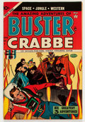 Golden Age (1938-1955):Science Fiction, Buster Crabbe #4 (Lev Gleason, 1954) Condition: VF+....