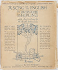 Books:Fiction, Rudyard Kipling, author and W. Heath Robinson, illustrator. ASong of the English. Hodder & Stoughton, [n.d., ci...