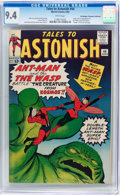 Silver Age (1956-1969):Superhero, Tales to Astonish #44 Don/Maggie Thompson Collection pedigree(Marvel, 1963) CGC NM 9.4 White pages....