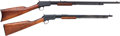 Long Guns:Slide Action, Lot of Two Winchester Slide Action Rifles.... (Total: 2 Items)