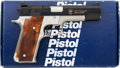 Handguns:Semiautomatic Pistol, Boxed Smith & Wesson Model 745 10th Anniversary IPSCSemi-Automatic Pistol....