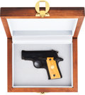 Handguns:Semiautomatic Pistol, Boxed and Cased Colt Mustang Semi-Automatic Pistol....