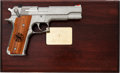 Handguns:Semiautomatic Pistol, Boxed, Cased and Engraved Smith & Wesson Model 645Semi-Automatic Target Pistol....