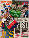 Books:Sporting Books, [Sports]. Group of Six Books and Programs covering sports related topics. Various publishers, 1986-2006. One book is signe... (Total: 6 Items)