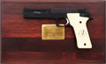 Handguns:Semiautomatic Pistol, Boxed, Cased and Engraved Smith & Wesson Model 422 Semi-Automatic Target Pistol....