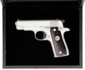Handguns:Semiautomatic Pistol, Boxed and Cased Colt Government Model Semi-Automatic Pistol....