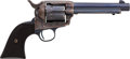 Handguns:Single Action Revolver, Rare Long Fluted Colt Single Action Army Revolver....