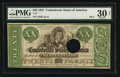 Confederate Notes:1861 Issues, T21 $20 1861 PF-2 Cr. 149.. ... (Total: 2 items)