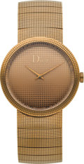 "Estate Jewelry:Watches, Christian Dior Lady's Gold ""La D de Dior"" Wristwatch. ..."