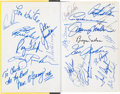 "Golf Collectibles:Autographs, 1974 ""Massacre at Winged Foot"" Book Signed by 25 Including Palmer,Nelson...."