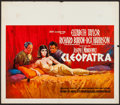 "Movie Posters:Historical Drama, Cleopatra (20th Century Fox, 1963). Oversize Belgian (21"" X 24.5"").Historical Drama.. ..."