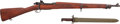 Long Guns:Bolt Action, U.S. Smith-Corona Model 1903-A3 Bolt Action Rifle With Bayonet....