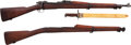 Long Guns:Bolt Action, U.S. Springfield Armory Model 1903 Bolt Action Rifle, Bayonet andExtra Stock.... (Total: 2 Items)