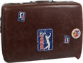 Golf Collectibles:Miscellaneous, Personal Suitcase from The Sam Snead Collection....