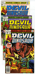 Bronze Age (1970-1979):Miscellaneous, Devil Dinosaur #2-9 Group (Marvel, 1978) Condition: Average VF/NM.Issues #2, 3, 4, 5, 6, 7, #8 (Dinoriders cover and story)...(Total: 8 Comic Books)
