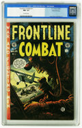 Golden Age (1938-1955):War, Frontline Combat #11 Gaines File pedigree 3/11 (EC, 1953) CGC NM-9.2 Off-white pages. The ubiquitous Jack Davis contributed...