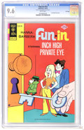Bronze Age (1970-1979):Cartoon Character, Fun-In #14 Inch High Private Eye - File Copy (Gold Key, 1974) CGCNM+ 9.6 White pages. Overstreet 2006 NM- 9.2 value = $38. ...