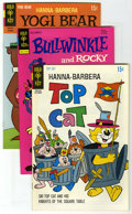 Bronze Age (1970-1979):Miscellaneous, Gold Key Group (Gold Key, 1968-74) Condition: Average NM-.Bullwinkle #11; Top Cat #31 (2 copies); and Yogi Bear... (Total: 5Comic Books)