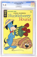 Silver Age (1956-1969):Cartoon Character, Huckleberry Hound #38 File Copy (Gold Key, 1969) CGC NM/MT 9.8 Off-white to white pages. Overstreet 2006 NM- 9.2 value = $38...