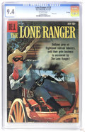 Silver Age (1956-1969):Western, The Lone Ranger #130 File Copy (Dell, 1959) CGC NM 9.4 Off-whitepages. Photo cover. Overstreet 2006 NM- 9.2 value = $150. C...