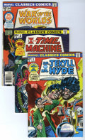 Bronze Age (1970-1979):Classics Illustrated, Marvel Classics Comics Group (Marvel, 1976-78) Condition: AverageVF/NM. Contains #1 (Dr. Jekyll and Mr. Hyde), #2 (The Time...(Total: 8 Comic Books)