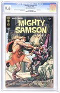 Silver Age (1956-1969):Adventure, Mighty Samson #15 File Copy (Gold Key, 1968) CGC NM+ 9.6 Off-white to white pages. Painted cover by Morris Gollub. Jack Spar...