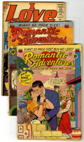Silver Age (1956-1969):Romance, Miscellaneous Silver/Golden Age Romance Group (Various, 1951-75).Includes Romantic Adventures #16, 21; I Love You #... (Total: 12Comic Books)
