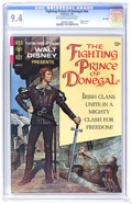 Silver Age (1956-1969):Adventure, Movie Comics: Fighting Prince of Donegal - File Copy (Gold Key, 1967) CGC NM 9.4 Off-white to white pages. Photo cover. Back...