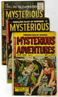 Golden Age (1938-1955):Horror, Mysterious Adventures #7, 16, and 24 Group (Story Comics, 1952-53)Condition: GD-. This chilling lot contains Mysterious A... (Total:3 Comic Books)